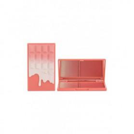 Makeup Revolution London I Heart Makeup Chocolate Duo Palette Rozświetlacz 11,2g Peach And Glow