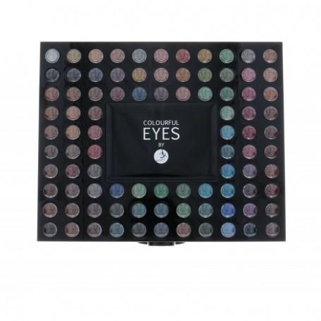 2K Colourful Eyes 98 Eye Shadow Palette Cienie do powiek 78,4g