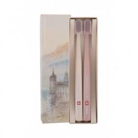 Curaprox 5460 Ultra Soft Limited Edition Szczoteczka do zębów 2szt Beige & Dark Brown