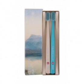 Curaprox 5460 Ultra Soft Limited Edition Szczoteczka do zębów 2szt Beige & Turquoise