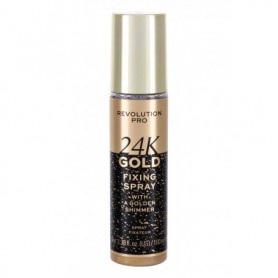 Makeup Revolution London Revolution PRO 24K Gold Utrwalacz makijażu 100ml