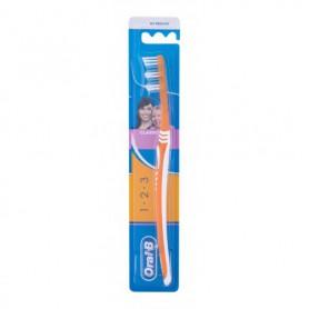 Oral-B 1-2-3 Classic Medium Szczoteczka do zębów 1szt