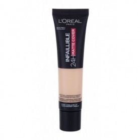 L´Oréal Paris Infallible 24H Matte Cover Podkład 30ml 135 Radiant Vanilla
