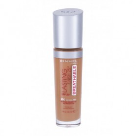 Rimmel London Lasting Finish Breathable 25HR SPF20 Podkład 30ml 400 Natural Beige