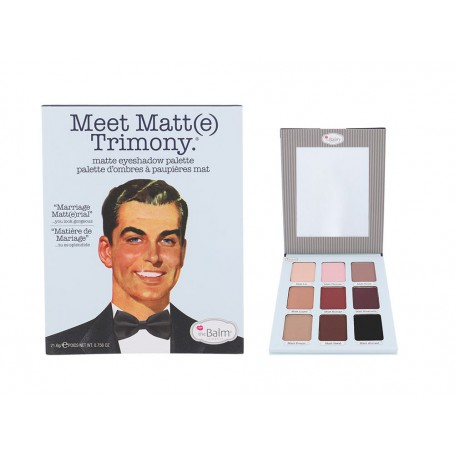 TheBalm Meet Matt(e) Trimony Eyeshadow Palette Cienie do powiek 21,6g